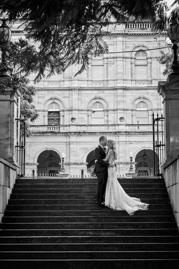 Brisbane Wedding Photography in Botanical Gardens